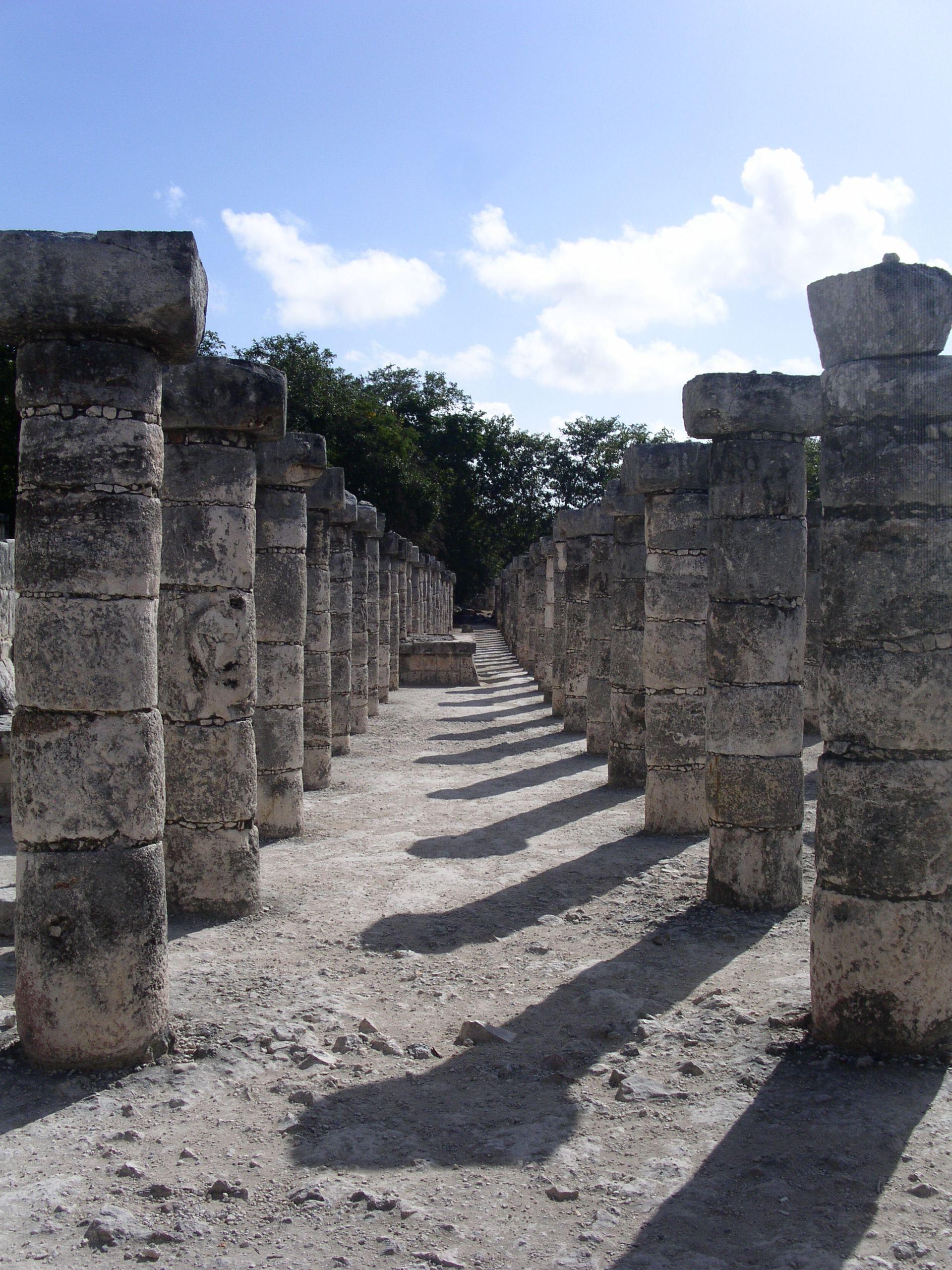 Columnas de chichén Itzá