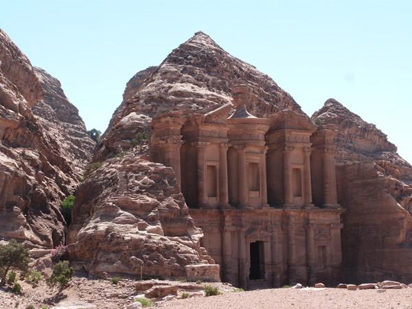 Vista general del Monasterio de Petra