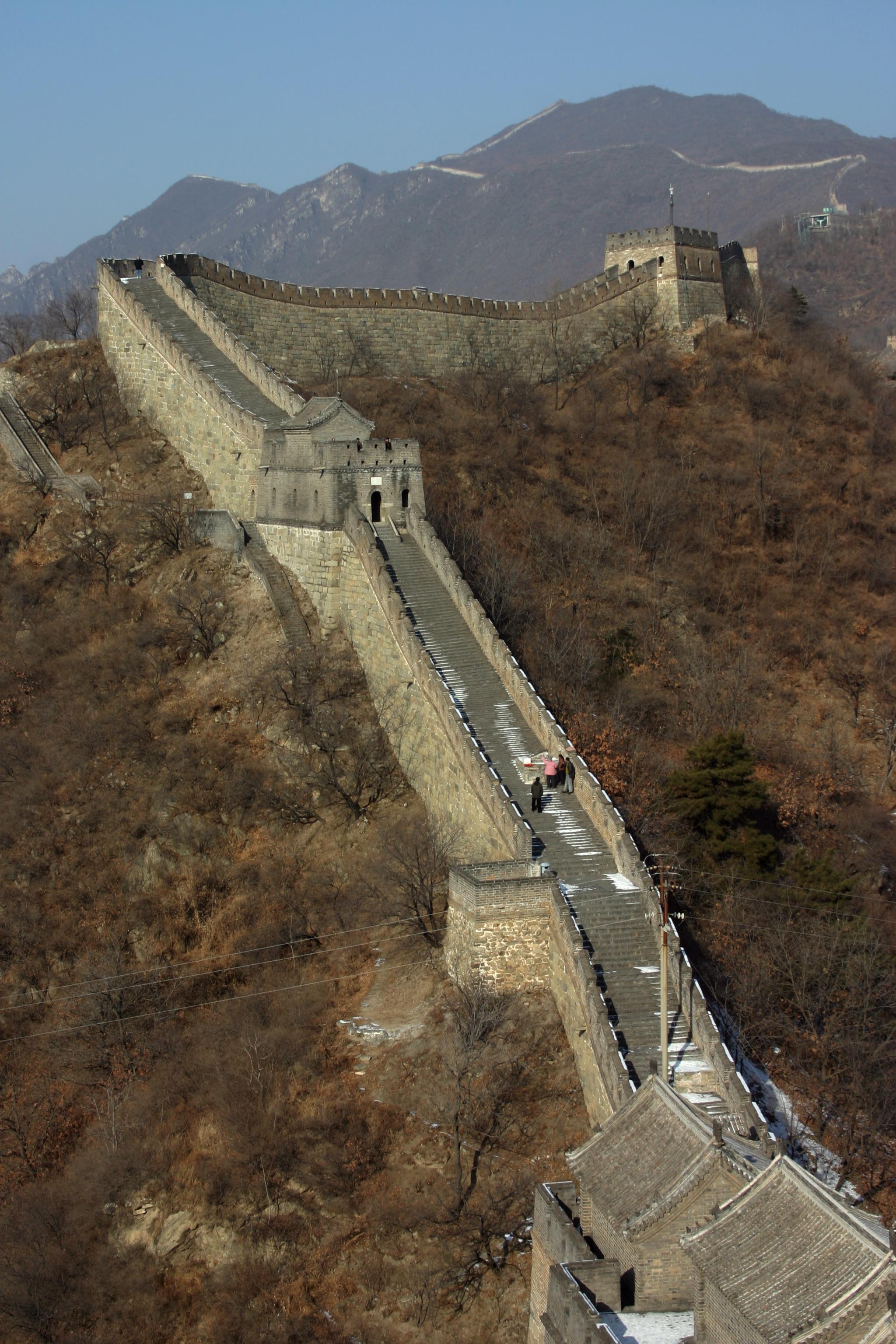 Pendiente Muralla China