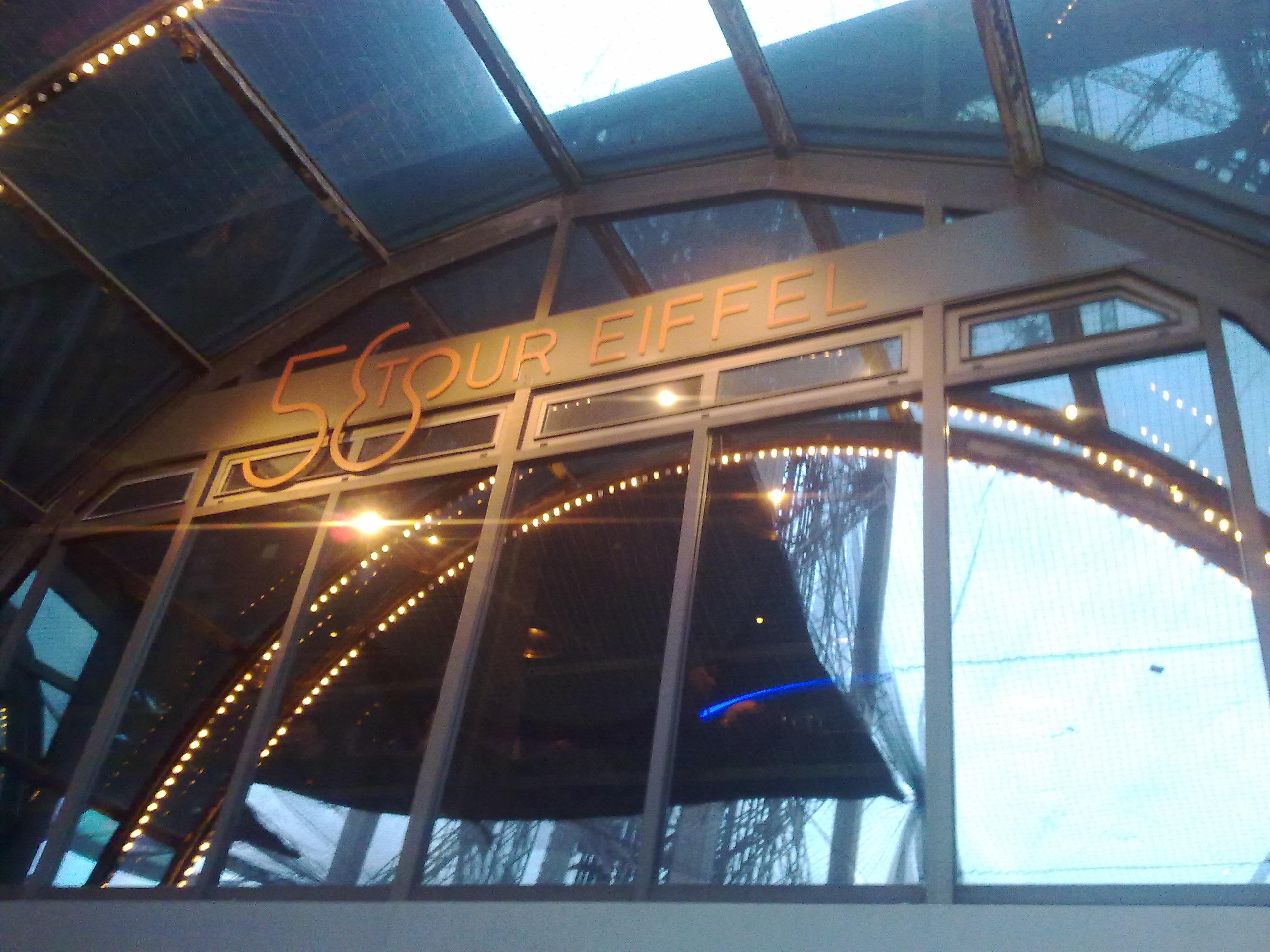 Restaurante 58 Tour Eiffel