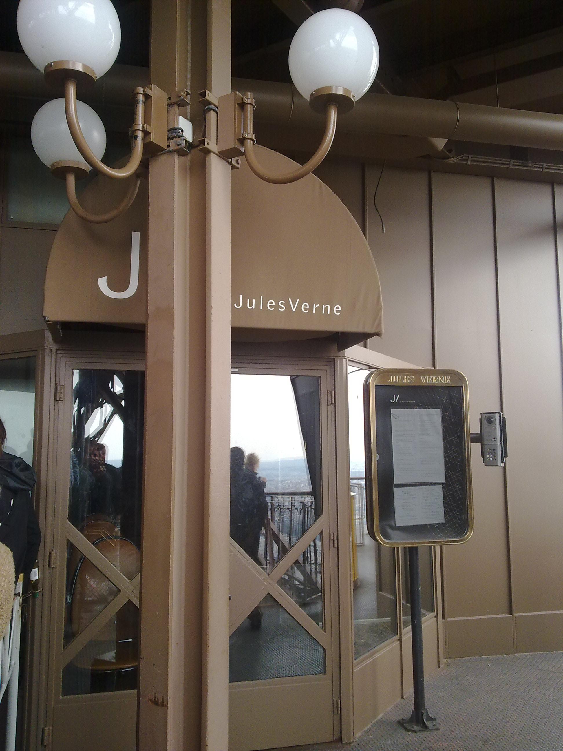 La maravilla de la torre eiffel 21 wonders - Restaurante julio verne ...