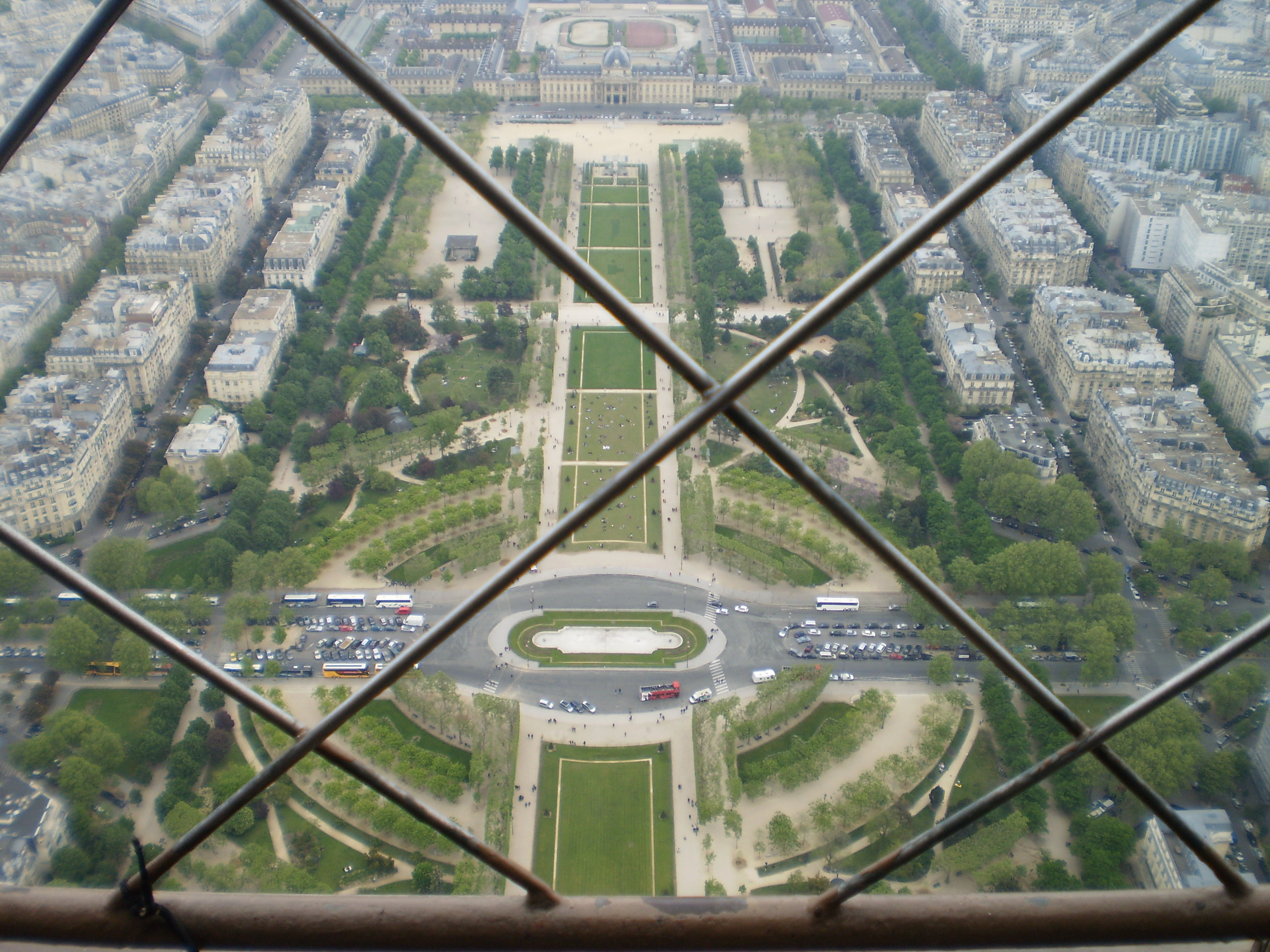 Vista Cima Torre Eiffel
