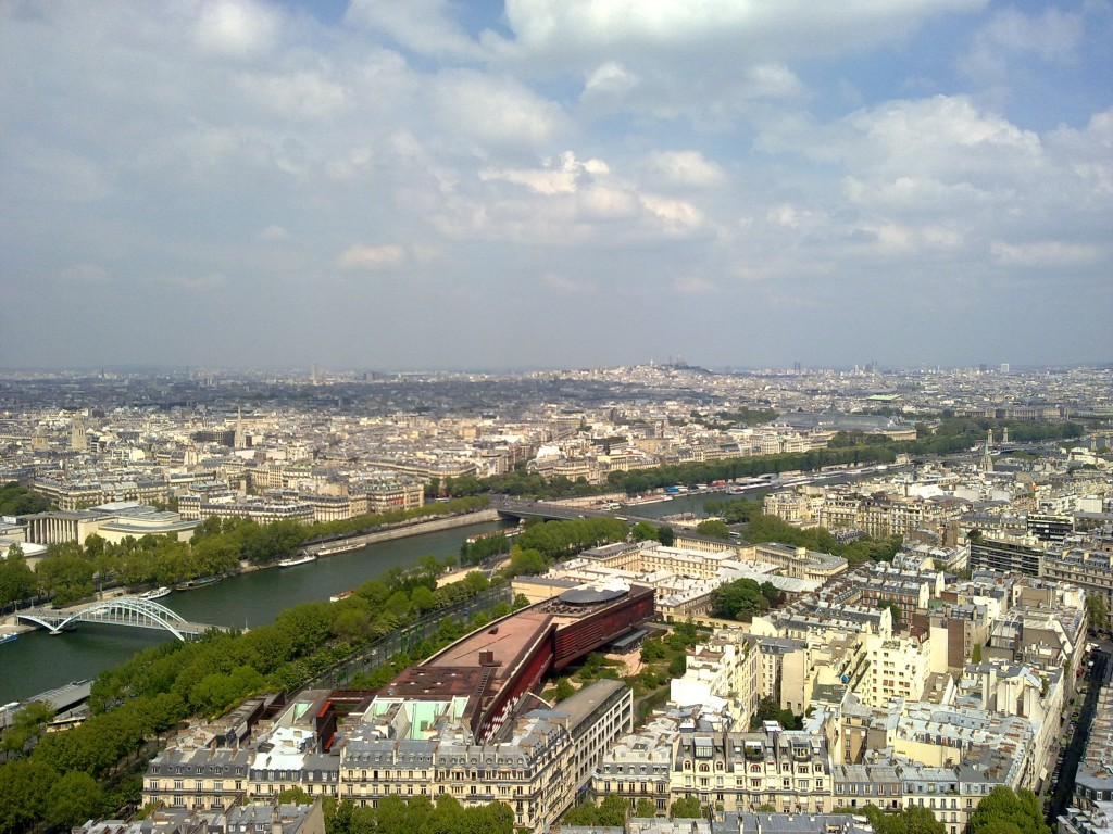 Vista de la 2ª planta de la Torre Eiffel