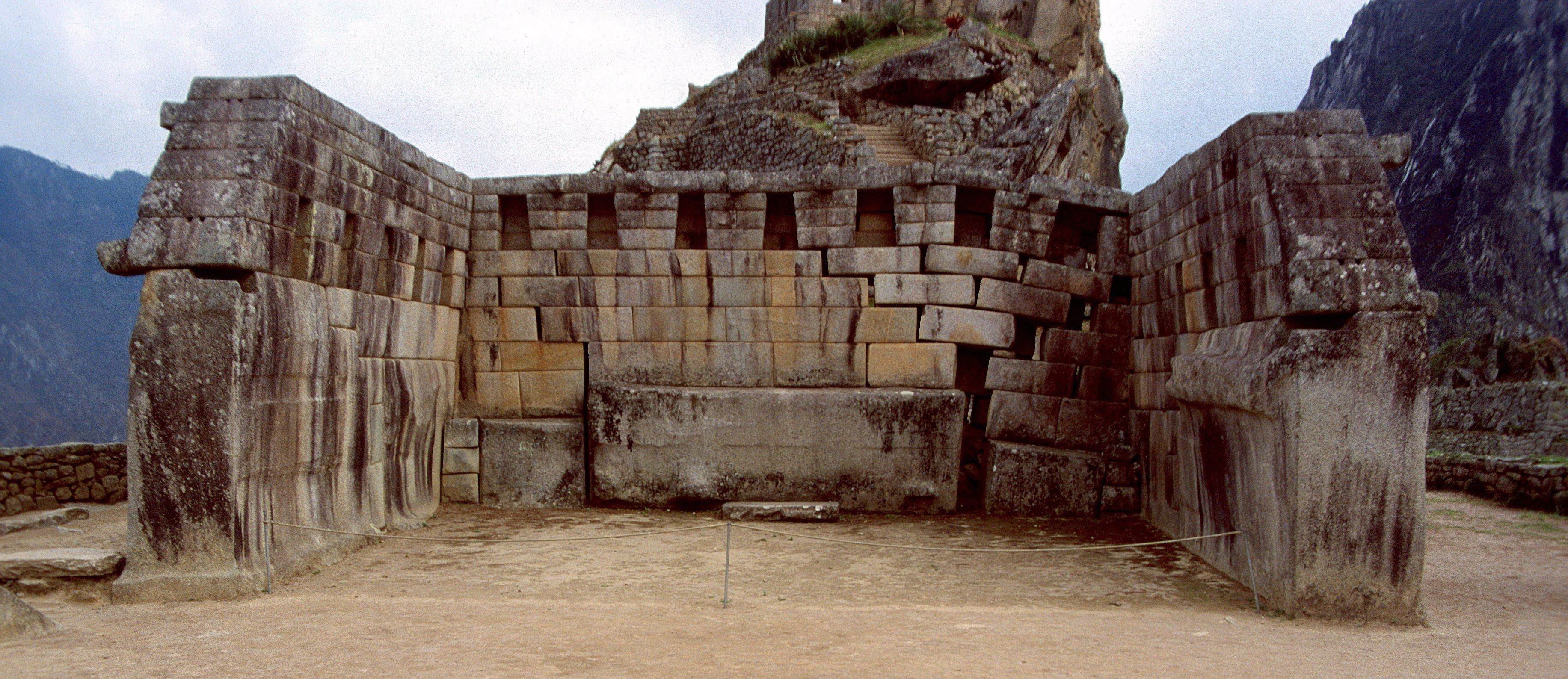 Plaza Sagrada - Machu Picchu