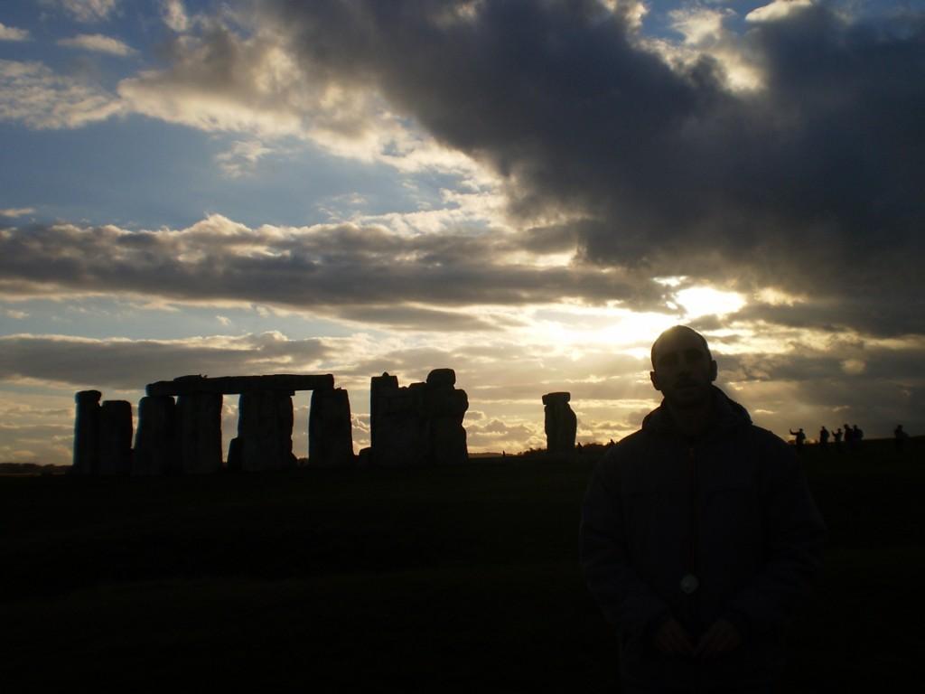 Contraste en Stonehenge