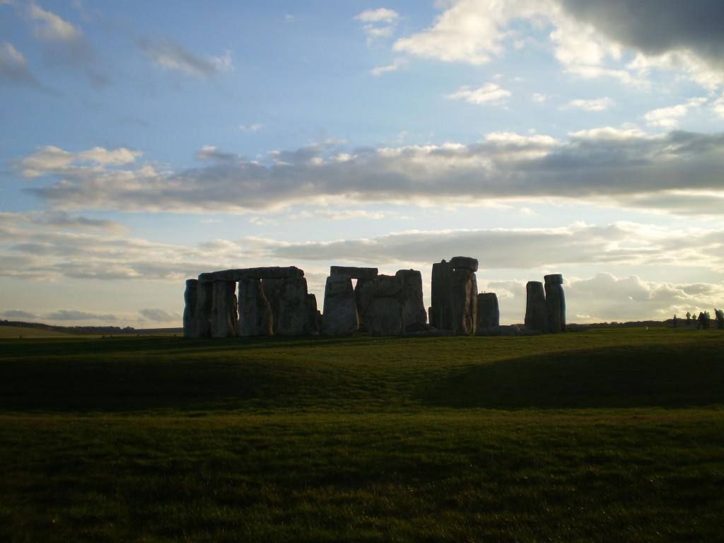 Stonehenge desde atrás