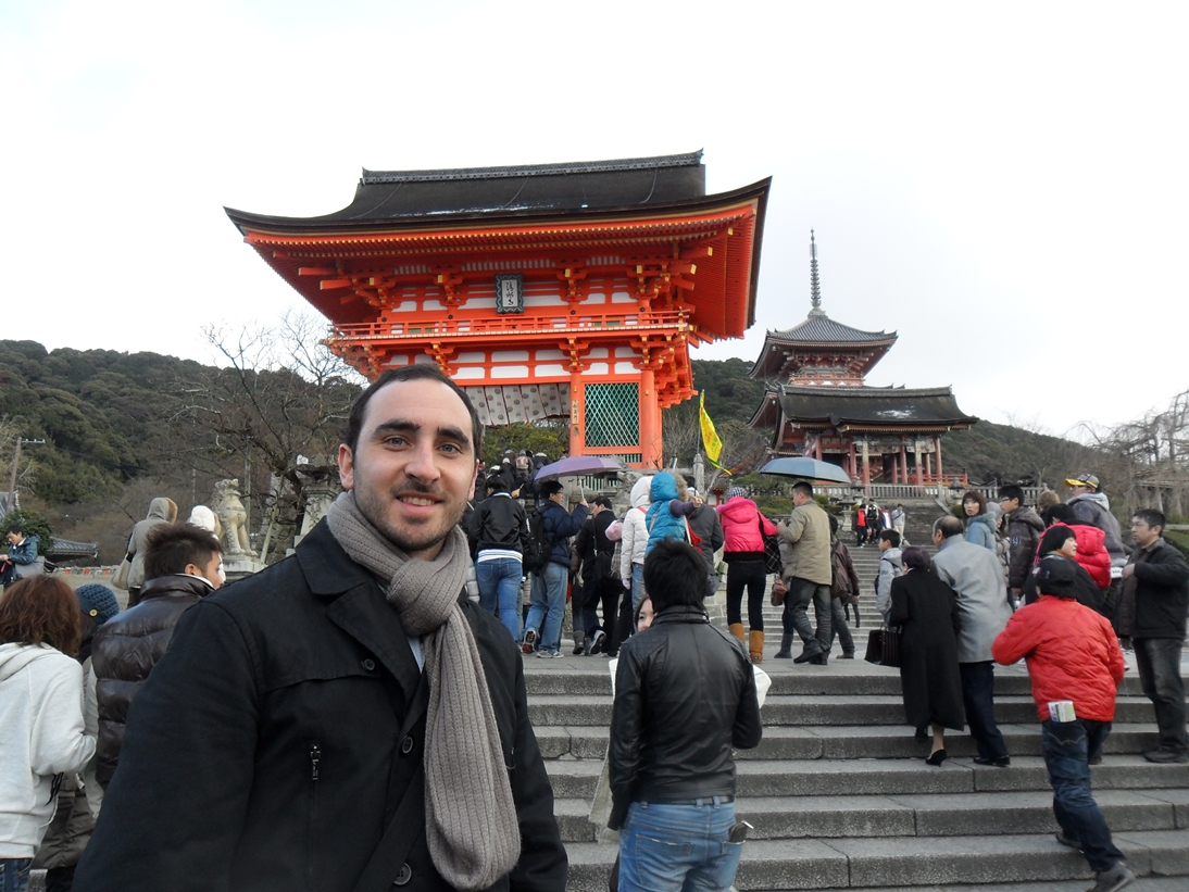 Un día en el templo de Kiyomizu-dera
