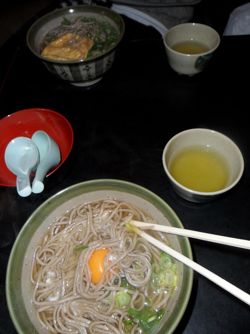 Comida en Kiyomizudera