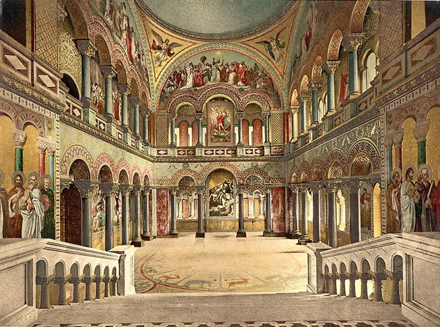 Sala Trono Neuschwanstein