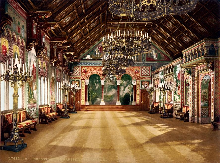 Sala Cantores Neuschwanstein