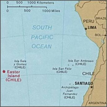 Mapas de la Isla de Pascua