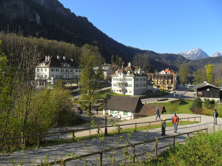 Camino Acceso Hohenschwangau