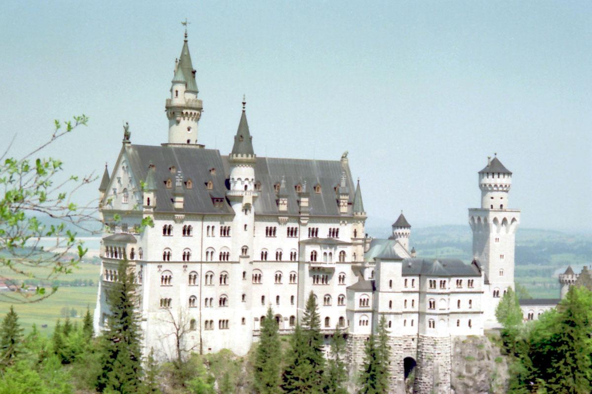 Castillo desde Marienbrucke