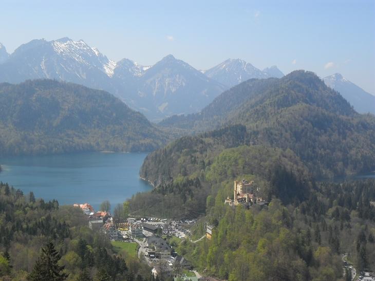 Vista Castillo Neuschwanstein