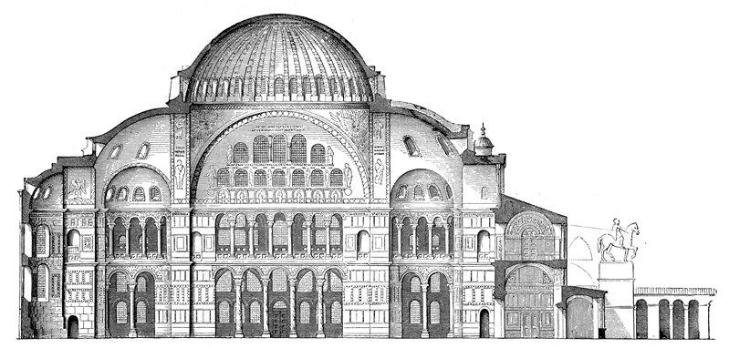 Arquitectura Original Santa Sofia