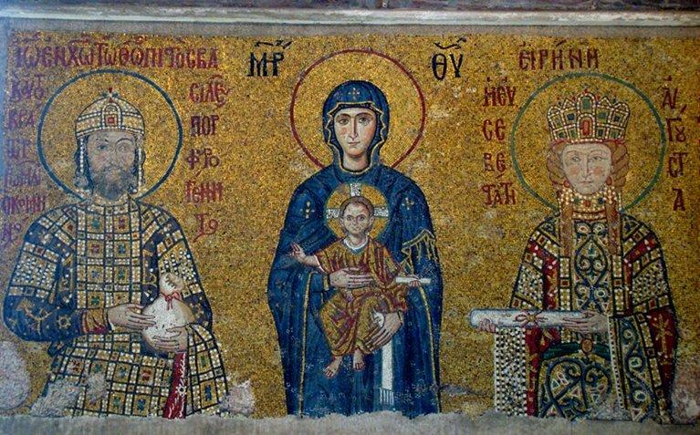 Mosaicos Comnenus de Santa Sofía