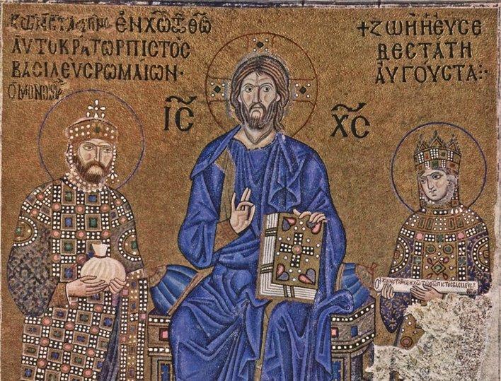 Mosaicos de la Emperatriz Zoe