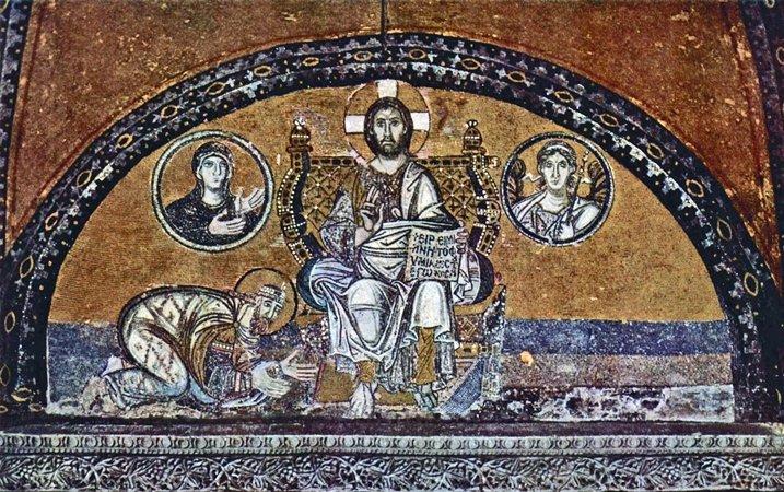 Mosaicos de Imperial Gate Santa Sofia
