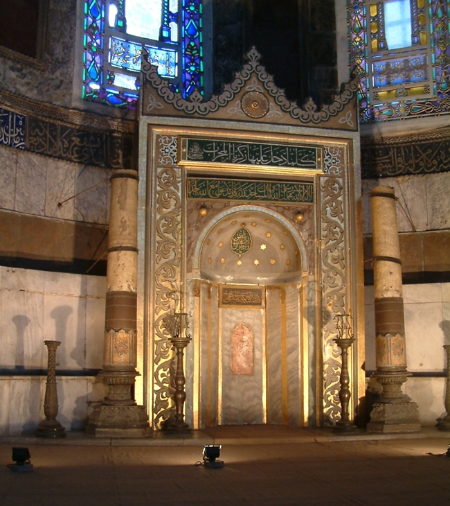 Mihrab de Santa Sofía