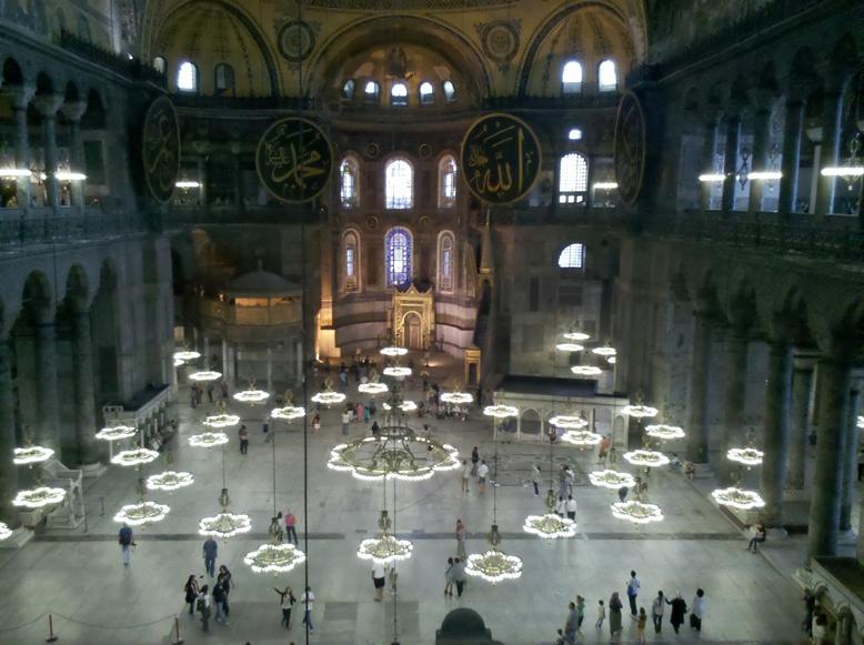 Interior de Santa Sofia - Estambul
