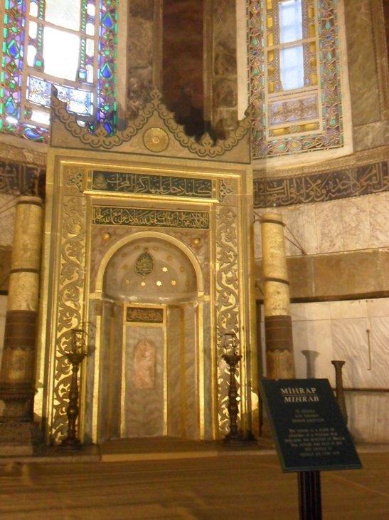 Mihrab de Santa Sofia