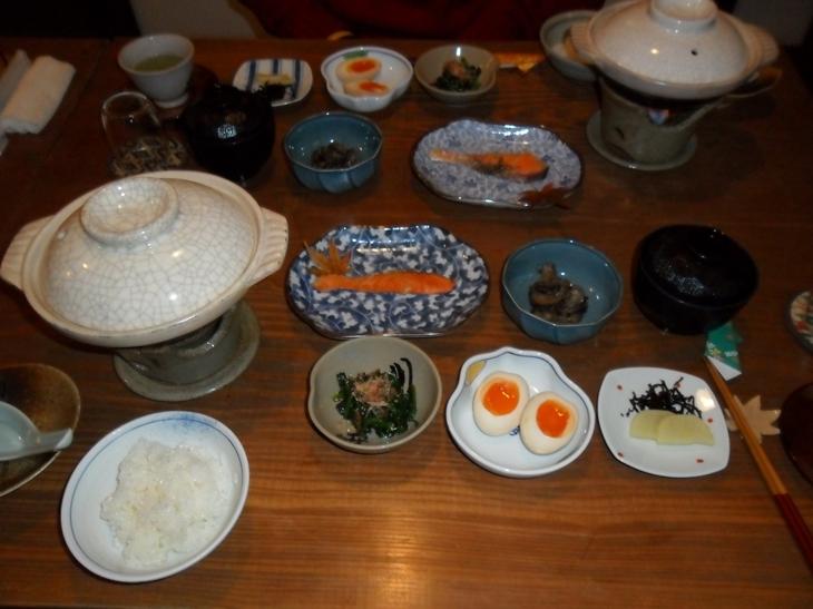 Desayuno en Miyajima