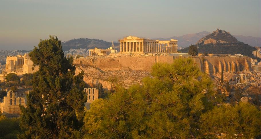 Acrópolis desde Colina Filopapo