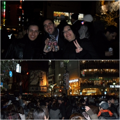 Celebración en Shibuya