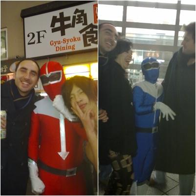 Power Rangers en Tokyo