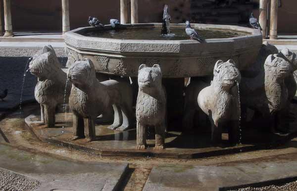 Fuente del Patio de los Leones - La Alhambra