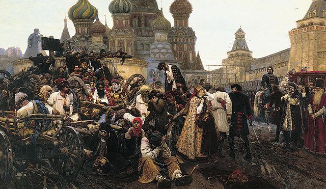 Batallas en la Plaza Roja