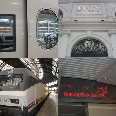 Trayecto Madrid-BCN-Paris