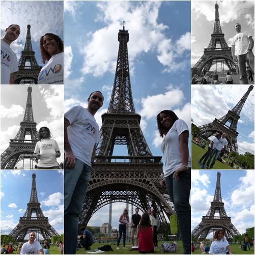 21W en la Torre Eiffel