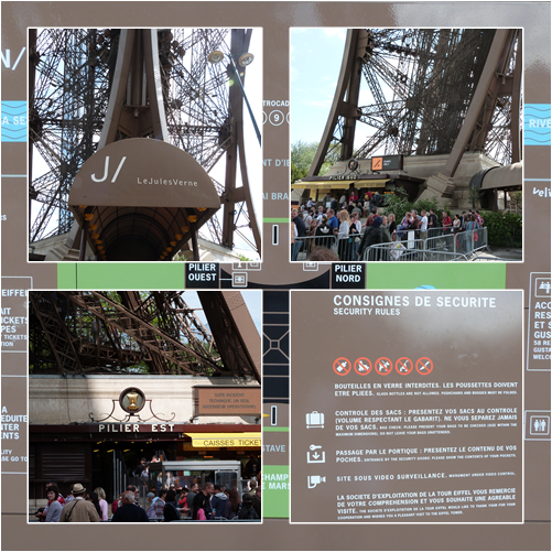 Exteriore sd ela Torre Eiffel