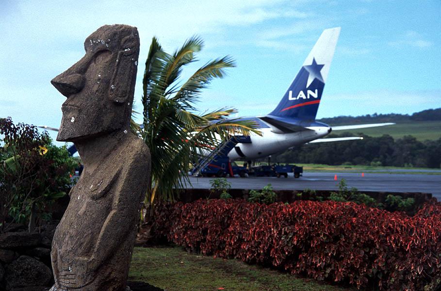 Aeropuerto de Mataveri - Isla de Pascua