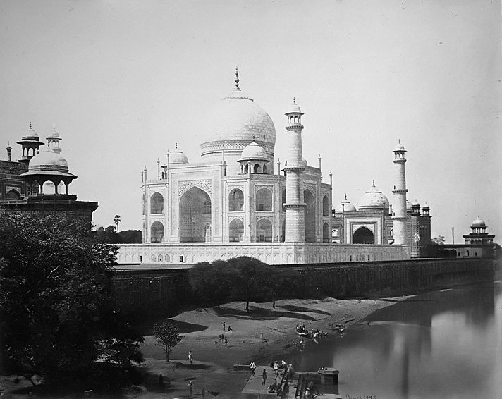Taj Mahal en 1860