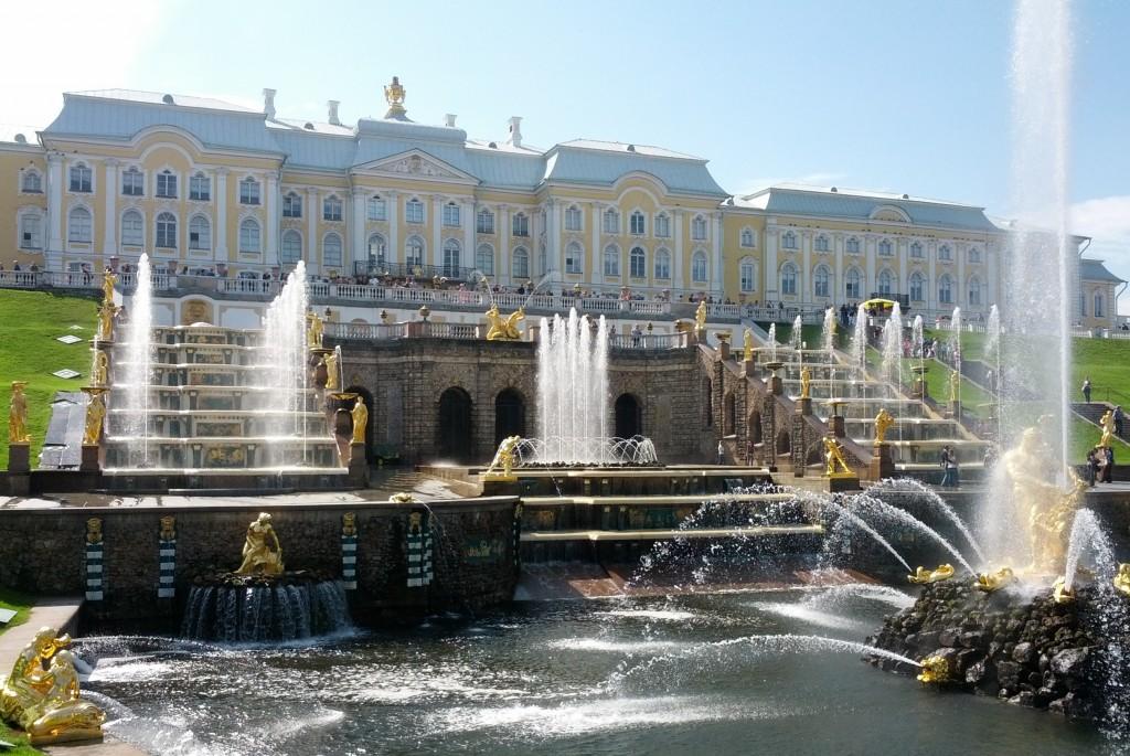 Gran Cascada del Palacio de Peterhof