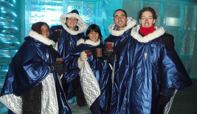 Los 5 de Oslo en el Icebar