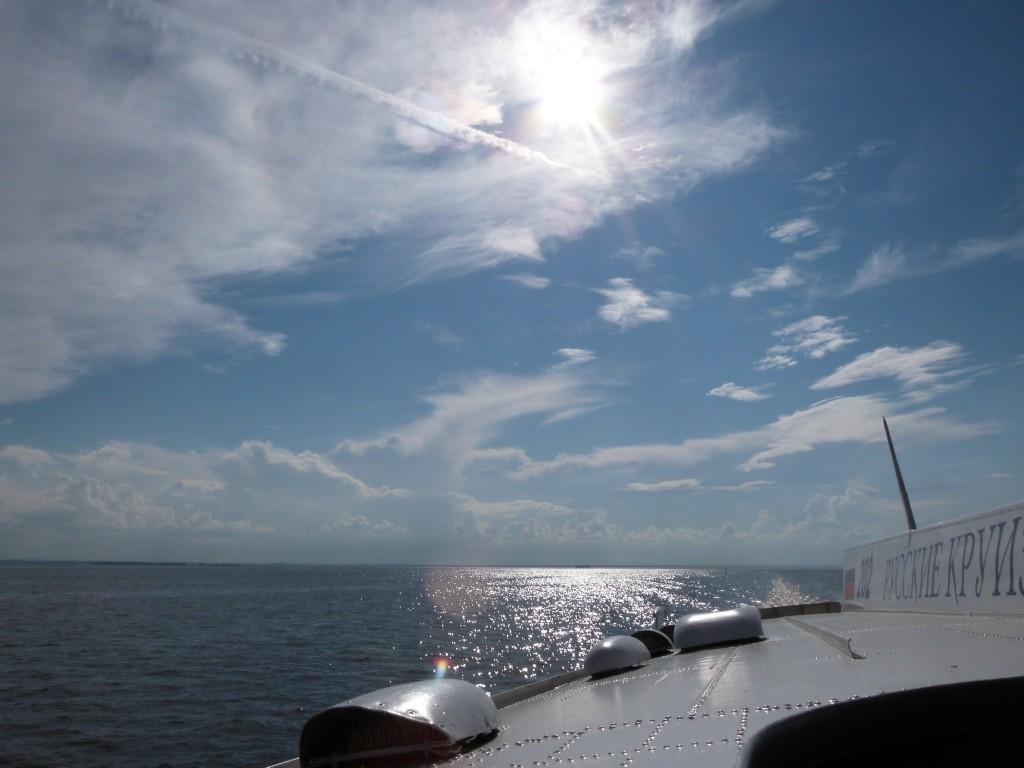 Hydrofoil hacia San Petersburgo