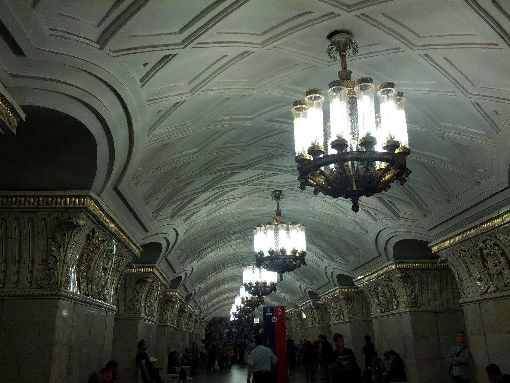 Interior Metro Moscu