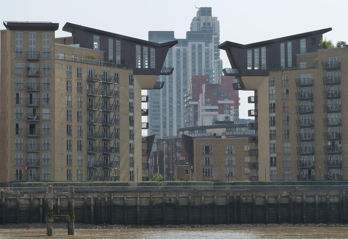 Arquitectura curiosa en Londres