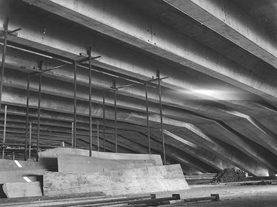 Proceso de construcción de la Ópera de Sydney