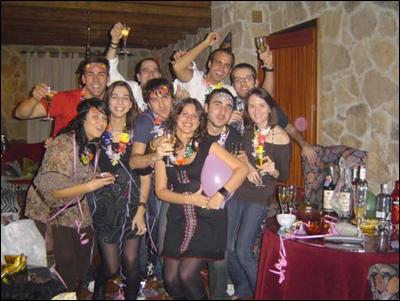 Nochevieja Erasmus - 2008