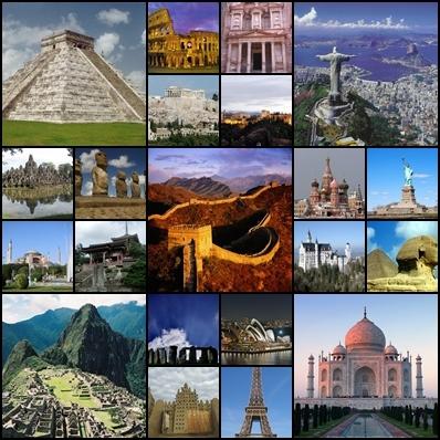 21 curiosidades históricas de las 21 maravillas del mundo