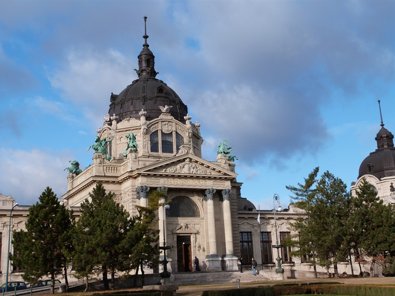 Balneario Szécheny de Budapest