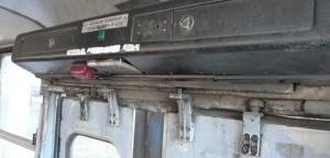Detalle Autobús Budapest