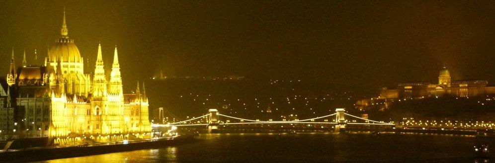 Panoramica Budapest desde Isla Margarita