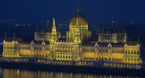 Parlamento desde el Bastión de los Pescadores
