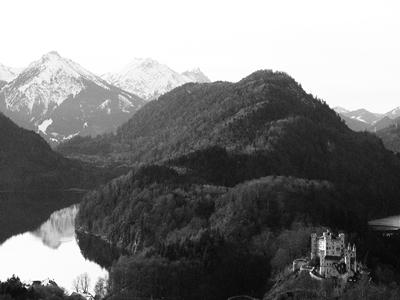 Vistas desde el mirador de Neuschwanstein