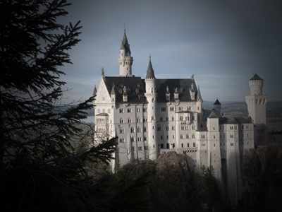 Castillo de Neuschwanstein desde el Marienbrucke